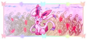 Sylveon Banner by CGholy