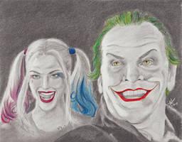 Joker and Harley by DisneyFan-01