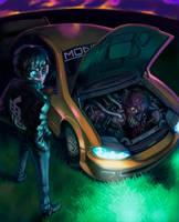 Monster Motor by NIW