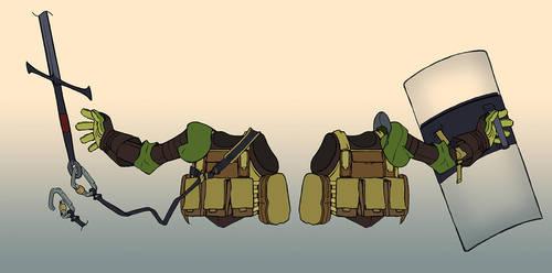 Tac Knight Equipment by NIW