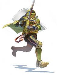 Tac Knight Running by NIW