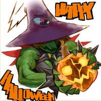 Happy Halloween by NIW