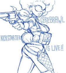 Cerebrawl Kickstarter: M. Tireuse by NIW