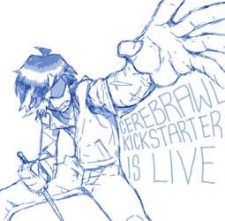 Cerebrawl Kickstarter: Goh Hayaku by NIW