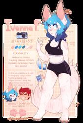 New Fox Ref !! by Ivana--Fox