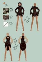 Steampunk: Outfit Plan by Zai-R