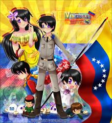 HTMR: Venezuela bicentenary by nennisita1234