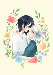 Sophie and Howl by Pistachii