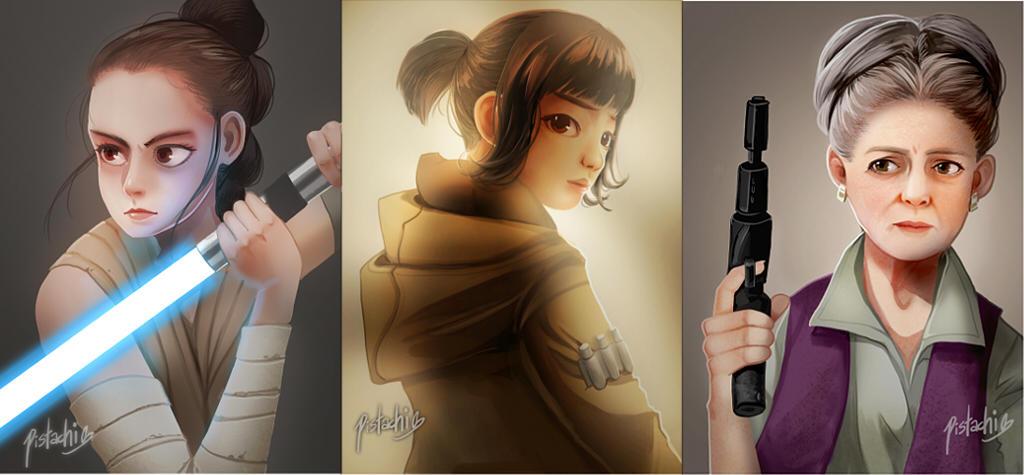 Star Wars Ladies by Pistachii