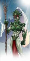 Ice Lady Concept by DarkAngelDTB