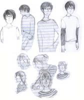 Michael / Emmett sketches by boniae