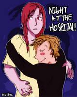 Night at the Hospital by boniae