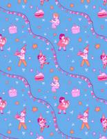 Birthday Kids Pattern by boniae