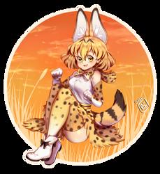 Serval by HibikiArts
