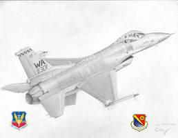 F-16C Fighting Falcon by Raptorguy