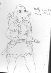 Molly Dolly by Woaddragon