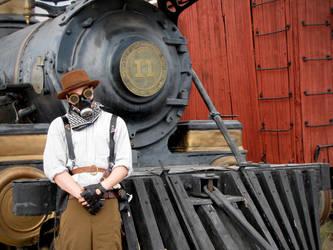 Steampunk Bounty Hunter by HDevers