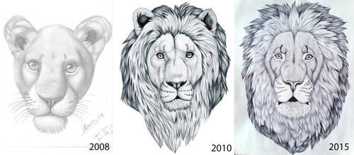 Lion comparison by HDevers