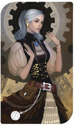 Commission: Elizabeth by madnessdemon