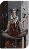 Commission: Anahita by madnessdemon
