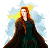 Sansa Stark by Julpers
