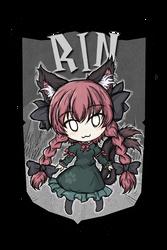 Rin Kaenbyou | Touhou Project by Senshimi