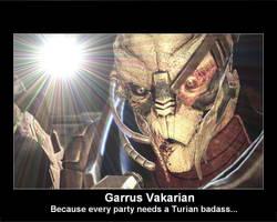 Garrus Motiv Poster by TalesofTears