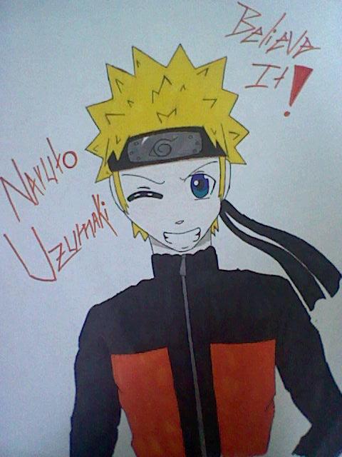 Naruto Uzumaki Believe It By Graychanthevamphog13