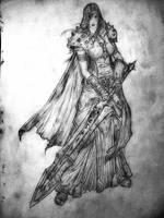 Death Knight by Razorbliss101