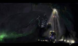 Nightbringer vs Uriel by morganagod