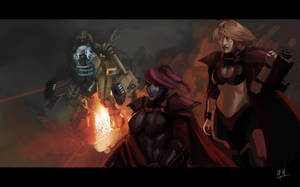 Inquisition and Tau Coalition by morganagod