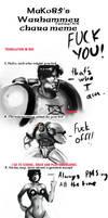 Warhammer 40k Meme by morganagod