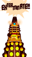 Even Daleks Think Fezzes by morganagod