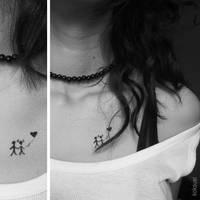 tattoo of us by koksuel