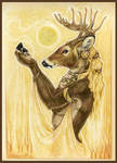 Sun goddess by DrunkenUnicorn