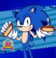 Happy Birthday Sonic the Hedgehog!!! by BloodRain98