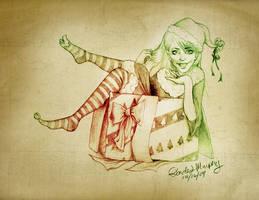 Elf in a Box by RSMRonda
