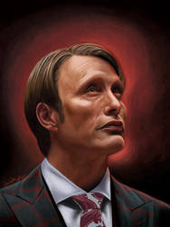 Hannibal Lecter by RSMRonda