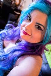 Blue and Purple Hair by RSMRonda