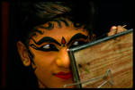 Kathakali: Make-up session 2 by Photogrartist