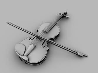 Violin - WIP by AngelaAntunes