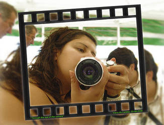Me through the camera by AngelaAntunes