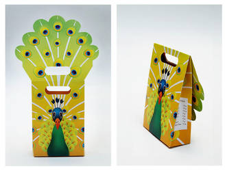Peacock Bag by SiskaFelicia