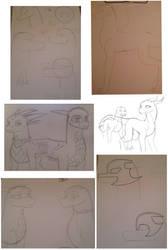 Sketch Dump (I don't even....Help me) by Dantedragon