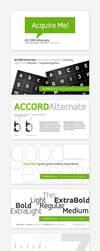 Accord Alternate Font Family by akkasone