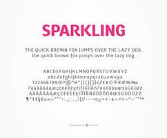 Chorus Typeface Preview by akkasone