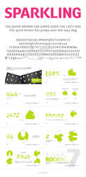 Chorus Typeface by akkasone
