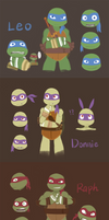 2K12 Ninja Turtles by Wusagi2