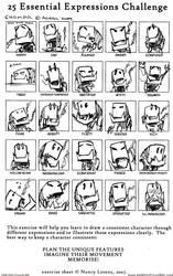 25 Expression Challenge CHOMPR by Striogi