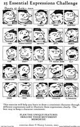 25 Expression Challenge James by Striogi